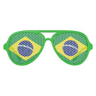 Gafas de sol brasileñas de los vidrios el   el
