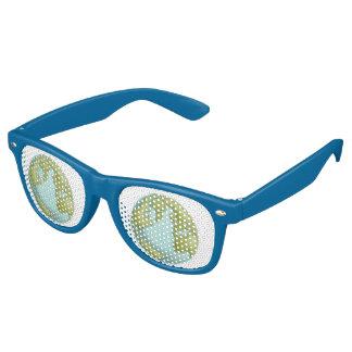 Gafas de sol cosidas 3D del modelo de la tierra Lentes De Sol