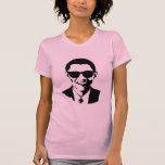 Gafas de sol de Barack Obama Camisetas