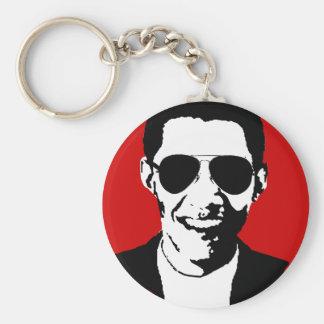 Gafas de sol de Barack Obama Llavero Redondo Tipo Pin