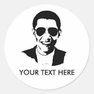 Gafas de sol de Barack Obama Pegatinas