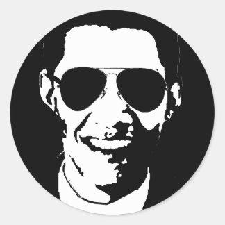 Gafas de sol de Barack Obama Etiqueta