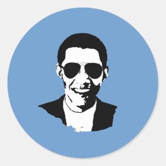 Gafas de sol de Barack Obama Pegatina