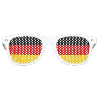 Gafas de sol de la bandera de Alemania Lentes De Fiesta