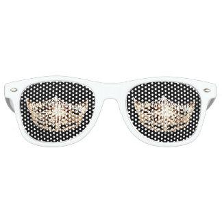 Gafas de sol de la corona del estilo de Srta. Lentes De Fiesta