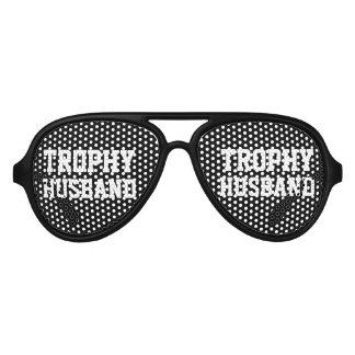 Gafas de sol de la despedida de soltero del marido lentes de sol