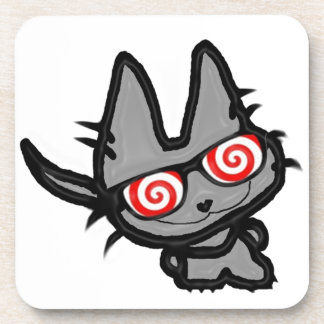 Gafas de sol de la diversión de Kittys Posavasos