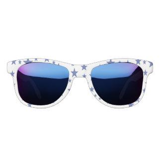 Gafas de sol de las estrellas azules