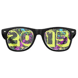Gafas de sol del chapoteo de la pintura del neón lentes de sol
