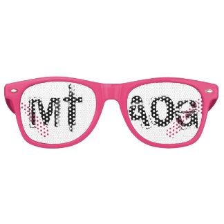 Gafas de sol del logotipo de WarriorsCreed MTAOG
