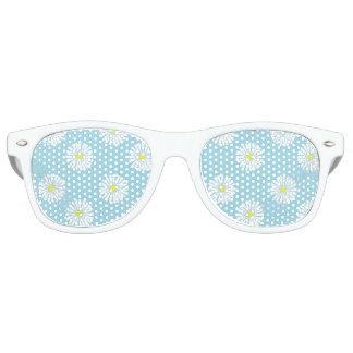 Gafas de sol del modelo de la margarita lentes de fiesta