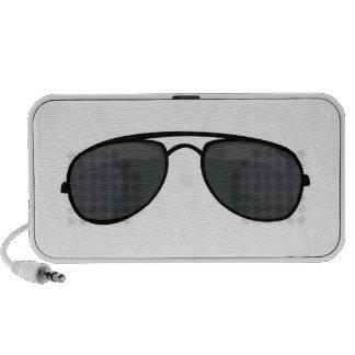 Gafas de sol del poli altavoces de viajar