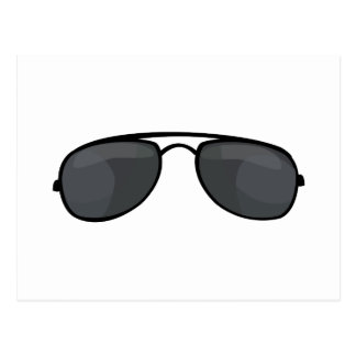 Gafas de sol del poli postales