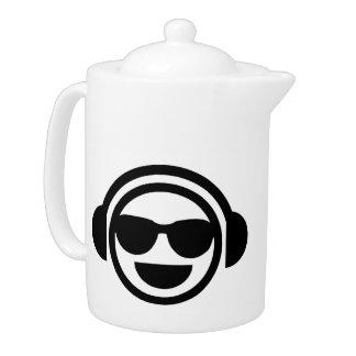 Gafas de sol del smiley de DJ