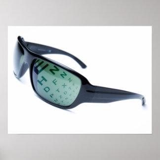 Gafas de sol dióptricas poster