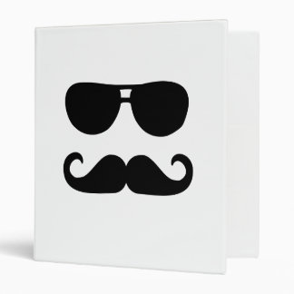"Gafas de sol divertidas del bigote carpeta 1"""