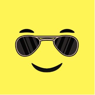 Gafas de sol Emoji Adorno Fotoescultura