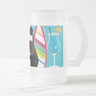 Gafas de sol frescas de panda del oso del vago div tazas de café