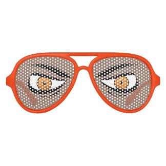 Gafas de sol malas de la fan de los ojos del lentes de fiesta