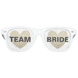 Gafas de sol - novia fabulosa del equipo del lentes de sol