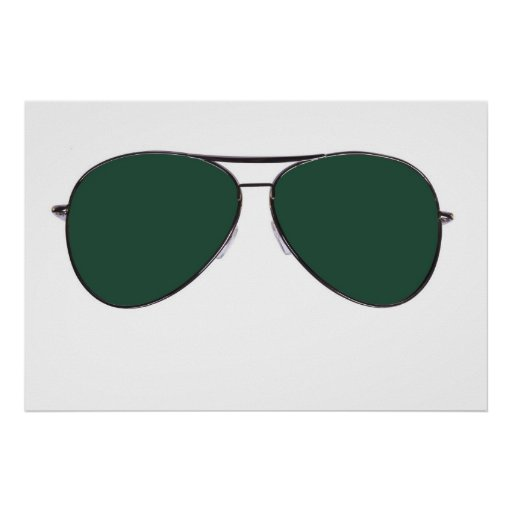 gafas de sol póster