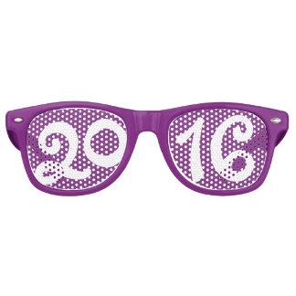 Gafas de sol púrpuras del fiesta de Noche Vieja Lentes De Sol