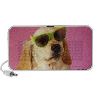 Gafas de sol que llevan 2 del perro iPod altavoz