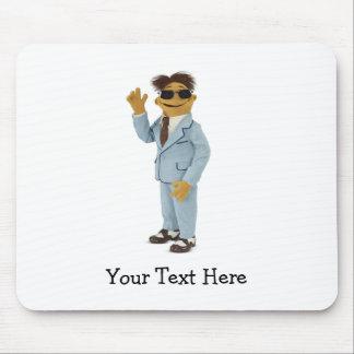 Gafas de sol que llevan de Gualterio Mouse Pad