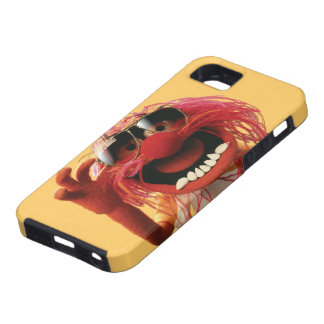 Gafas de sol que llevan del animal funda para iPhone 5 tough