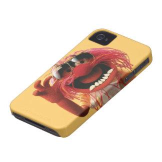 Gafas de sol que llevan del animal iPhone 4 funda