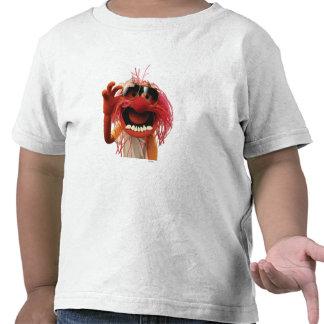 Gafas de sol que llevan del animal camisetas