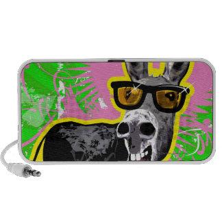 Gafas de sol que llevan del burro PC altavoces