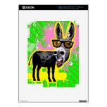Gafas de sol que llevan del burro pegatina skin para iPad 3