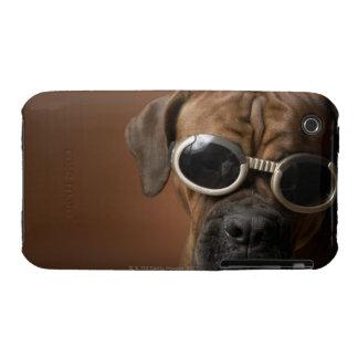 Gafas de sol que llevan del perro Case-Mate iPhone 3 protectores