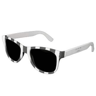 Gafas de sol rayadas de la raza de Digitaces