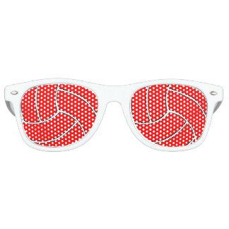 Gafas de sol rojas de encargo del fiesta del