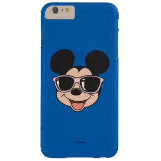 Gafas de sol sonrientes de Mickey el   Mickey Funda De iPhone 6 Plus Barely There
