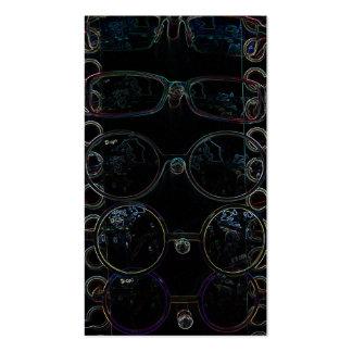 gafas de sol tarjeta de visita