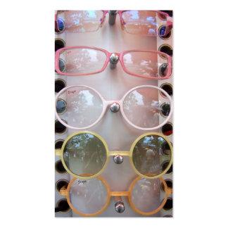gafas de sol tarjeta personal