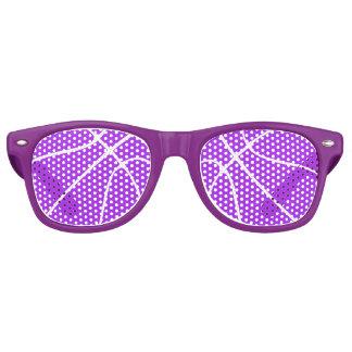 Gafas de sol Wayfarer púrpuras del fiesta del