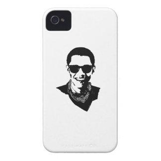 GAFAS DE SOL Y PAÑUELO - .PNG DE BARACK OBAMA iPhone 4 Case-Mate CARCASA