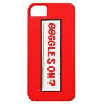 ¿Gafas encendido? Cubierta Iphone5 iPhone 5 Case-Mate Cárcasa