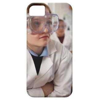 Gafas protectoras que llevan del chica (9-12) iPhone 5 carcasas