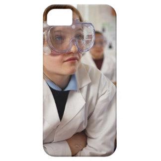 Gafas protectoras que llevan del chica (9-12) iPhone 5 fundas