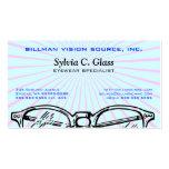 Gafas Vision óptico de las gafas Tarjetas Personales