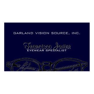 Gafas Vision óptico de las gafas Tarjetas De Negocios