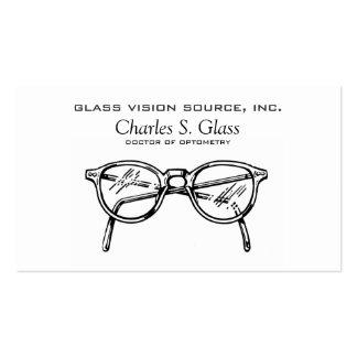 Gafas Vision óptico de las gafas Tarjeta Personal