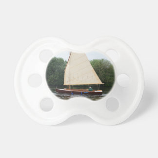 Gaff Rigged Sailing Boat Baby Pacifiers