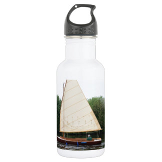 Gaff Rigged Sailing Boat 18oz Water Bottle