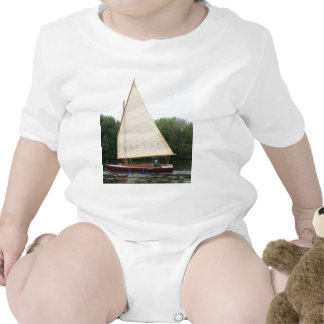 Gaff Rigged Sailing Boat Rompers